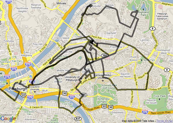 Tour of Pittsburgh