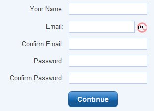 Example Signup Form