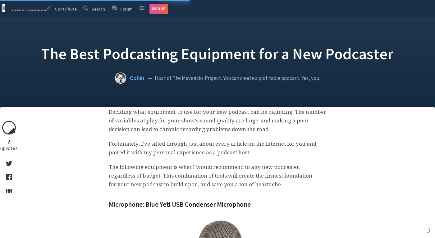 The Best Podcasting Equipment for a New Podcaster – Collin