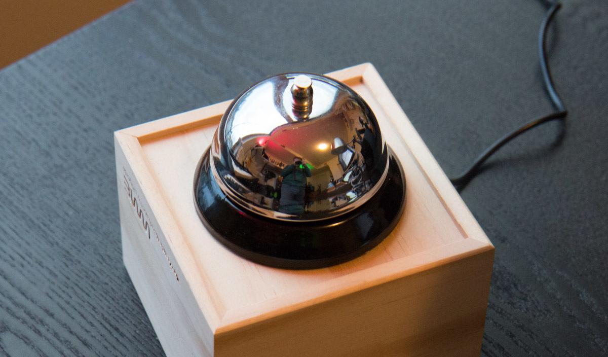 Kickstarter Desk Bell