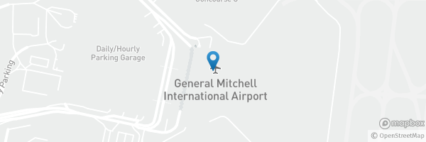 Checked in at General Mitc International Airport (MKE ... on