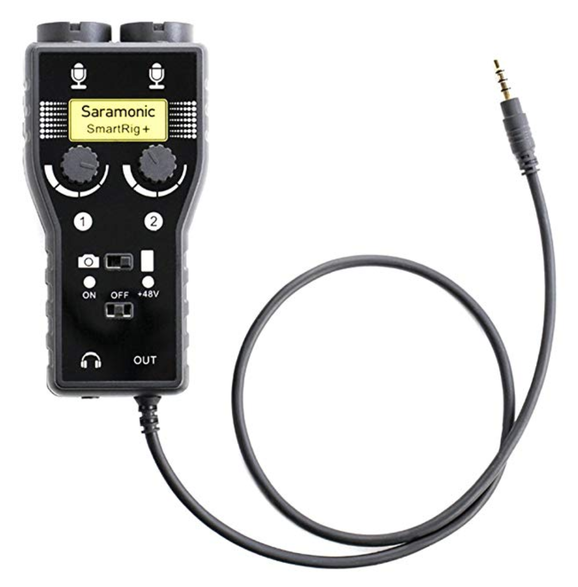 Aaron Parecki Finally Connect The Ground Wire To Bluish Screw Lamp Saramonic Smartrig 2 Channel Mixer Is A Small That Provides Phantom Power So You Can Use Nice Microphones With It Plugs Into 1 8 Jack On