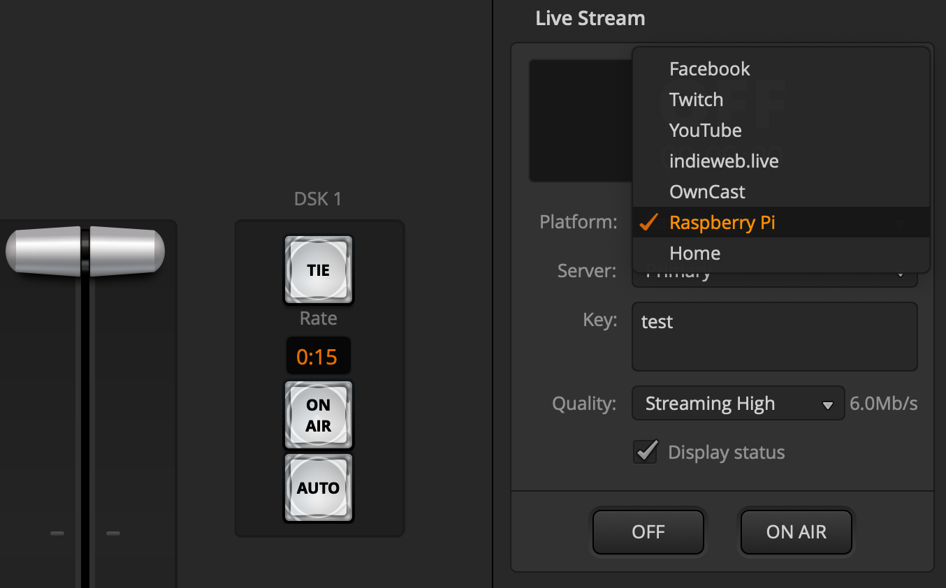 streaming options