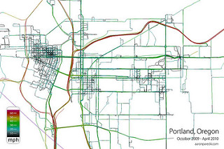 GPS Logs from Portland Closeup - Oct 2009 through Apr 2010